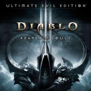 """Diablo III: Reaper of Souls Ultimate Evil Edition"" + ""Rückkehr des Totenbeschwörers"" gratis m. Gold laden u. spielen (XBOX One/ Series X S)"