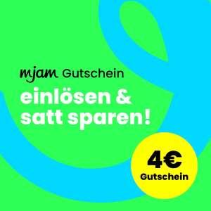 MJAM 4 € Gutschein