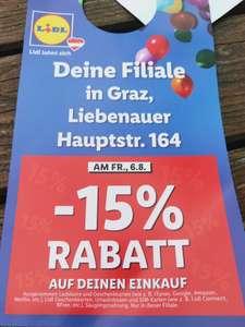 Lokal Lidl Graz -15%