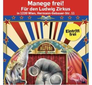Möbel Ludwig: Freier Eintritt in Ludwig Zirkus für alle Kinder und Junggebliebenen