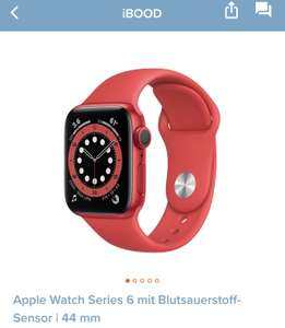 Apple Watch Series 6 | 44 mm | rot