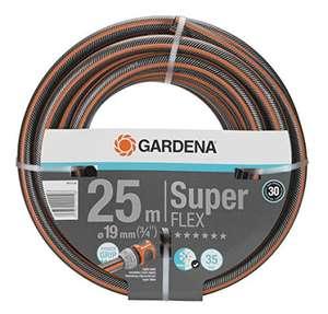 Gardena Premium SuperFLEX Schlauch 19 mm (3/4 Zoll), 25 m