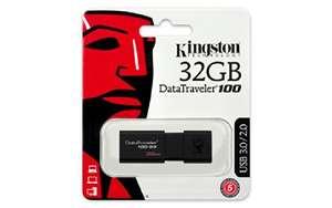 32GB Kingston DataTraveler 100 USB 3.0 Stick