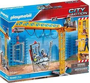 PLAYMOBIL City Action RC-Baukran mit Bauteil inkl. Fernbedienung