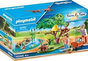 PLAYMOBIL Family Fun 70344 Kleine Pandas im Freigehege Set
