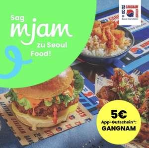 Mjam: 5€ App-Gutschein ab MBW 10€ für Seoul Food