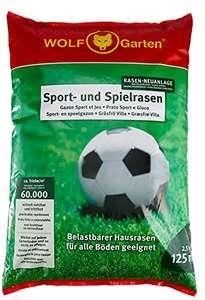 WOLF-Garten - Sport- und Spiel-Rasen für 125m²