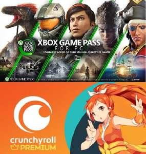 3 Monate gratis XBOX Game Pass für PC (neue Nutzer) über Crunchyroll holen (geht über gratis 14Tage Premium Probeabo - Anime Stream)