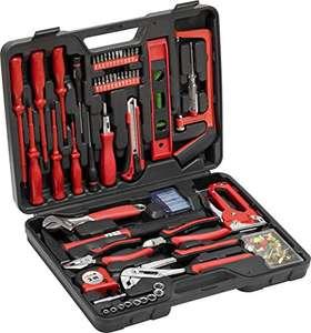 Meister Haushaltskoffer 60-teilig - Werkzeug-Set - Werkzeug für den täglichen Gebrauch, Werkzeugkoffer befüllt