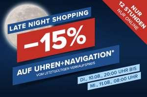 Hervis: 15% Rabatt auf Sportuhren & Navigation