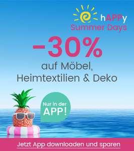 Universal: 30% Rabatt auf Möbel, Heimtextilien & Deko in der App