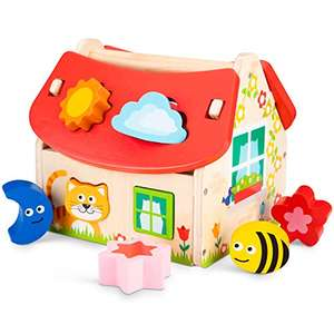 New Classic Toys 10563 - Sortierbox Haus