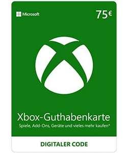 75€ Xbox Live Guthaben