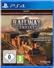 Railway Empire (PS4) Höchste Eisenbahn ab in den Shop bei Media Markt bevor der Zug abfährt