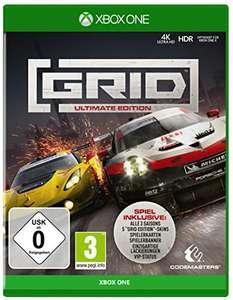 Grid Ultimate Edition (XBOX One leider ausverkauft / PS4) zum Rennerpreis bei Media Markt / für PS4 ebenfalls im Deal da aber 17€