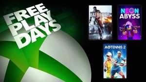 """XBOX FREE PLAY DAYS: """"Battlefield 4"""" (auch auf Steam), """"Neon Abyss"""" und """"AO Tennis 2"""" mit Gold gratis spielen"""