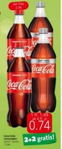 Spar/Eurospar/Interspar ..1L Cola - Light - Zero um 0,74 Euro