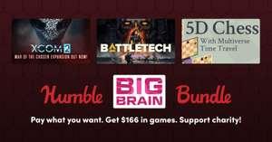 """Humble Big Brain Bundle"": XCOM 2, Battletech, 5D Chess With Multiverse Time Travel, 7 Billion Humans, ... (7 Spiele + 1 DLC als Steamkeys)"