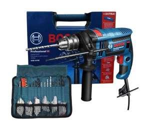 Bosch Professional GSB 16 RE Elektro-Schlagbohrmaschine inkl. Koffer + Zubehörsatz