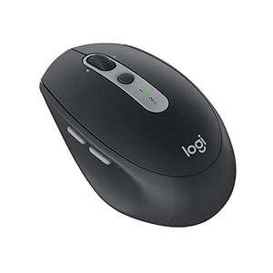 Logitech M590 Silent Kabellose Maus, Bluetooth und 2.4 GHz Verbindung via Unifying USB-Empfänger, 1000 DPI