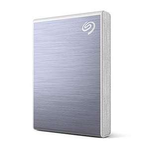 Seagate One Touch SSD 500 GB, bis zu 1.030 MB/s, Mylio Create 1 Jahr, inkl. 3 Jahre Rescue Service [Bestpreis]