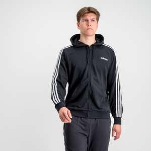 Adidas Essential 3 Stripes Kapuzenjacke für Damen & Herren