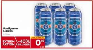 Puntigamer Dosenbier um € 0,59 ab 19.8 bei Billa und Billa-Plus