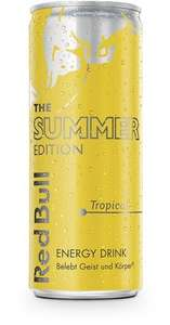 [Amazon] Red Bull Tropical Yellow Edition um 0,84€ pro Dose (24er Palette)