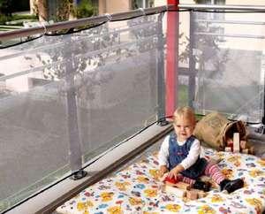 Reer Balkon-Schutz-Netz