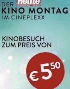 (6000er Deal )Heute Kino Montag: Cineplexx und Constantin Kinos 5,50€ pro Ticket