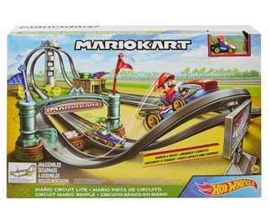 Hot Wheels GHK15 - Mario Kart Mario Rundkurs Rennbahn