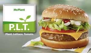 McDonald's: Pflanzlicher Burger McPlant ab 17.8.2021