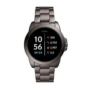Fossil Smartwatch GEN 5E Edelstahl Grau für 144€