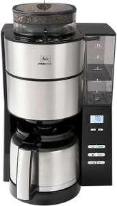 Melitta AromaFresh 1021-12 Filter-Kaffeemaschine mit Therm-Kanne und integriertem Mahlwerk
