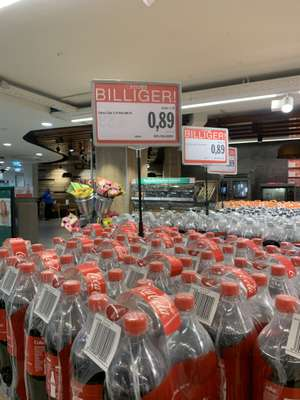 Spar Erdbergrtraße: 1,5l Coca-Cola od. Fanta - um 50% verbilligt!