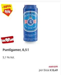 Puntigamer 0,5 l Dosenbier für 2 Tage in Aktion bei Hofer