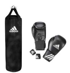 "Adidas ""Senior"" Boxing Set, schwarz"
