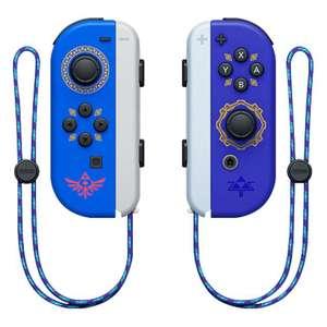 Nintendo Switch Joy-Con im Skyward Sword Design