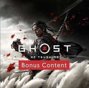 """Ghost of Tsushima – Bonus-Inhalte"" (PS4) gratis im PSN Store"