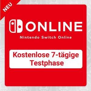 Nintendo Switch Online - Kostenlose 7-tägige Testphase