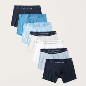 Abercrombie & Fitch -15% zusätzlich auf den Sale-Preis, z.B. 7er-Pack Boxershorts.