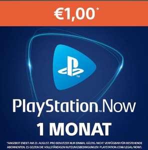 PlayStation Now: 1-Monats-Abonnement um nur 1€