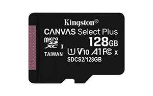 "Kingston ""Canvas Select Plus"" microSDXC (128GB, R100) - neuer Bestpreis"