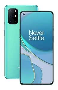 OnePlus 8T, 8/128GB, aquamarine green // in silber bei Amazon FR um 405,93€