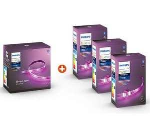 Philips Hue Lightstrip Plus 2m Basis + 3x 1m Erweiterung