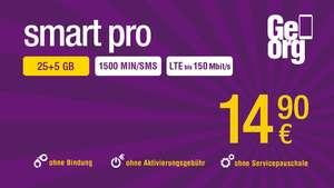 Georg Smart Pro Tarif zusätzlich 5 GB