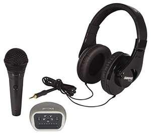 Shure Digital Recording Kit mit PGA58 Gesangsmikrofon, SRH240A Kopfhörer & digitales Audio-Interface Mvi