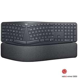 (WHD: sehr gut) Logitech Ergo K860 Tastatur, USB/Bluetooth, DE