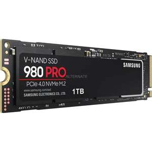 Samsung 980 Pro M.2 PCIe 4.0 SSD 1TB - neuer Bestpreis!