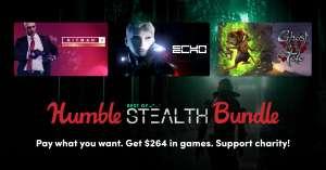 """Humble Best of Stealth Bundle"" mit Steamkeys für Aragami, ECHO, Heat Signature, Styx: SOD, Hitman Goty, Hitman 2 Gold, Ghost of a Tale"